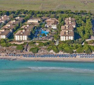 Luftaufnahme allsun Hotel Eden Playa