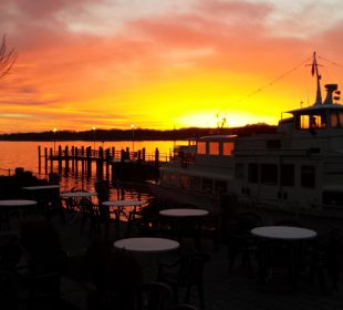Sonnenaufgang im Februar Hotel Luitpold am See 1&2