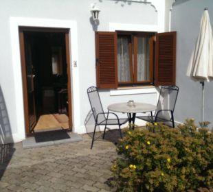 Zimmer 4 mit Terrasse