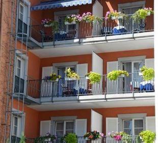 Komfortzimmer mit Balkon zum ruhigen Hinterhof Hotel Deutscher Kaiser im Centrum