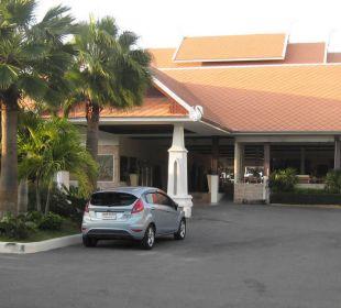 Der Eingang zur Rezeption Thai Garden Resort