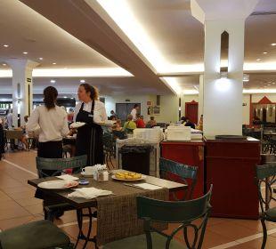 Abfallentsorgung direkt am Tisch Hotel Mirador Maspalomas Dunas