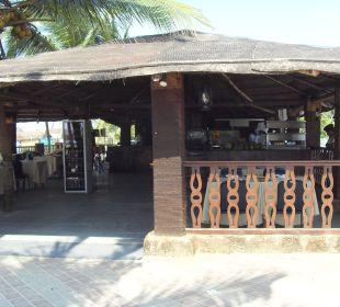 Fish Grill Restaurant am Hotelstrand Hotel Holiday Inn Resort Goa