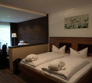 Schlafbereich Bergkristall Alpenhotel Fischer