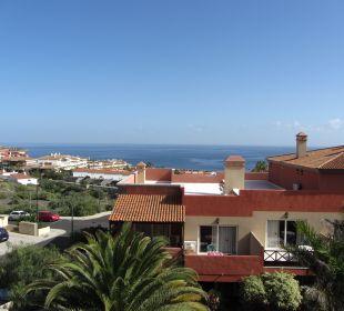 Blick vom Balkon Richtung Meer Aparthotel El Cerrito