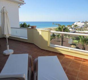 Balkon mit Blick zum Meer Bungalows Ultra Dos Calle Risco Blanco