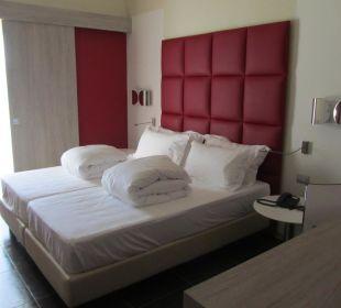 Das Zimmer 224 (sehr bequemes Bett) Jazz Hotel