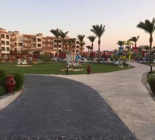 Blick in die Anlage Dana Beach Resort