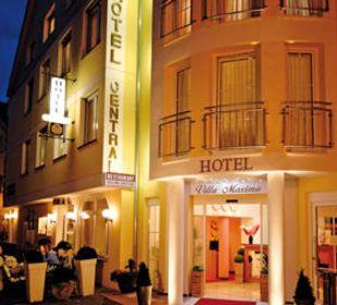 Aussenansicht Hotel Central Vital