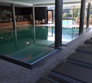 Indoorpool Kempinski Hotel Berchtesgaden