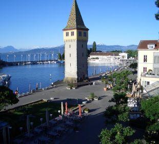 Sicht auf die Promenade Hotel Lindauer Hof