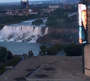 Restaurantblick Hotel Hilton Niagara Falls / Fallsview
