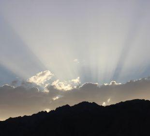 Sonnenuntergang vom Zimmer Jaz Dahabeya
