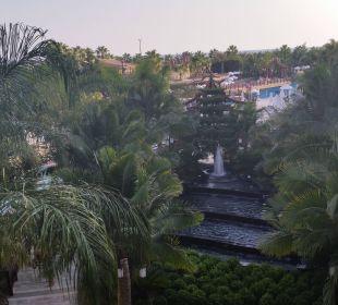 Aus unserem Zimmer Hotel Royal Dragon