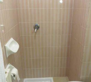 Minidusche ohne Vorhang Hotel Bellavista