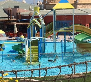 Der Kinderpool der Anlage Jungle Aqua Park