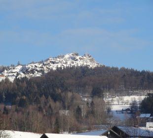 Balkonausblick zum Silberberg Wohlfühl-Ferienwohnung Fritz Bodenmais
