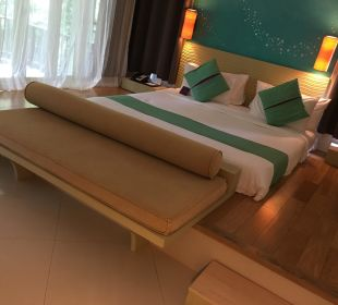 """Das """"Bett"""", also die Matratze auf dem Boden Hotel Mercure Koh Chang Hideaway"""