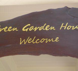 Jeder Gast ist herzlich willkommen. Guest House Green Garden House