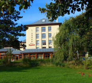 Vom Garten aus gesehen Lindner Park-Hotel Hagenbeck