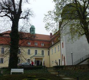 Eingangsbereich Hotel Schloss Schweinsburg