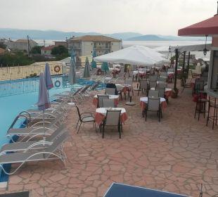 Pool und Bar Hotel Corfu Pelagos