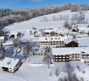 Hausansicht Winter Berggasthof Hotel Fritz