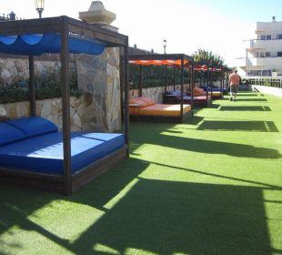 VIP sun terrace for suites Hotel Barceló Corralejo Bay