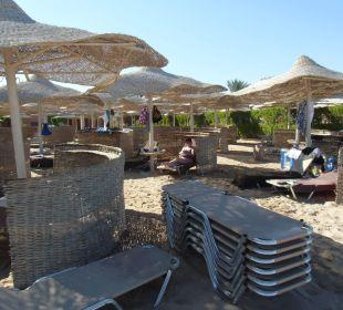 Liegen Strand Sensimar Makadi Hotel