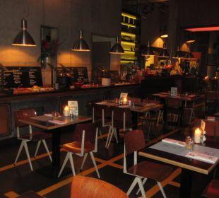 Frühstücksbüffet 25hours Hotel HafenCity
