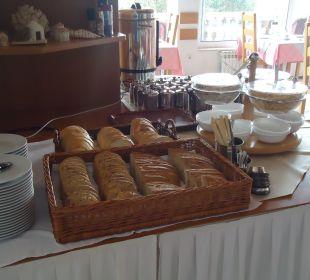 Frühstücksbuffet Villa Pavlinka