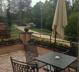 Eigene Terrasse Suite Hotel Schloss Mönchstein