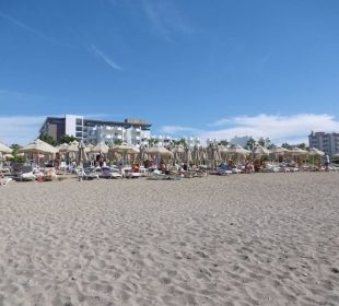 Strand mit Hotel Select Hotel Royal Garden Select