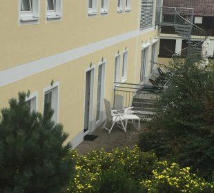 Unsere Terrasse Landhotel Brandlhof