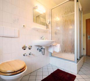 Badezimmer in der Ferienwohnung Katharina Wimmerhof Ising
