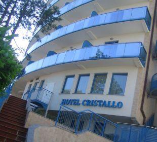 Haupteingang vom Hotel Hotel Cristallo Lignano