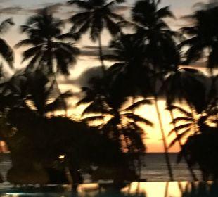 Sonnenuntergang  Dreams La Romana Resort & Spa
