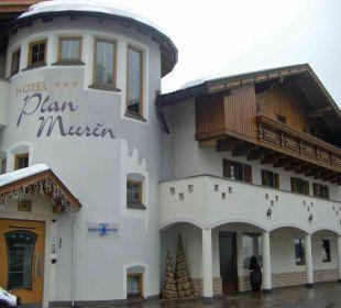 Außenansicht Hotel Plan Murin