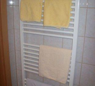 Heizstäbe im Badezimmer Hotel Garni Altneudörflerhof