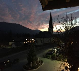 Sonnenuntergang Hubertus Alpin Lodge & Spa