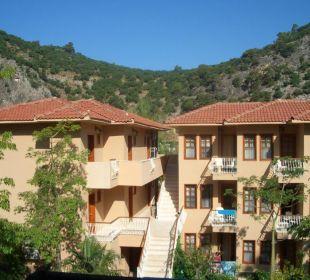 Aussicht vom Balkon Blue Lagoon Hotel Oludeniz