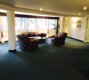 Wygondy zestaw wypoczynkowy na kazdym piętrze Hotel Landhaus Alpinia