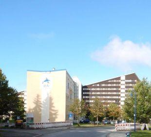 Blick auf das Hotel IFA Schöneck Hotel & Ferienpark
