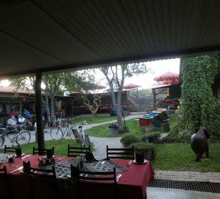 Außen-Restaurant Etosha Safari Camp
