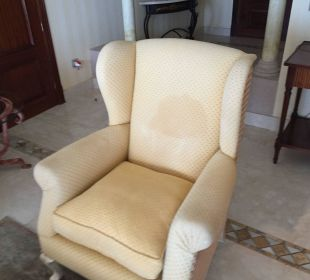 Sessel mit Schweißfleck Gran Hotel Atlantis Bahia Real