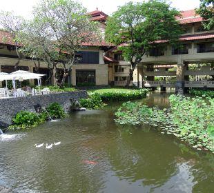 Gartenanlage InterContinental Bali Resort