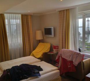 Toller Ausblick aus Zimmer 308. Hotel Lindauer Hof