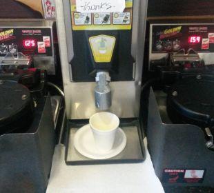 Zum Frühstück: Waffeln La Quinta Inn Orlando Universal Studios
