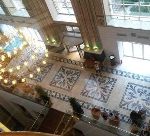 Eingang Haupthaus Hotel Horus Paradise Luxury Club