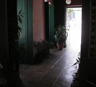 Eingang Hotel Bahiacafé
